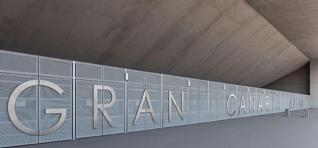 Fachada Gran Canaria Arena