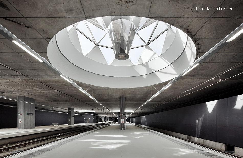 Estación de tren de Logroño - Lucernario