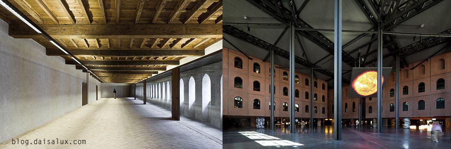 Palacio del Cpndestable (Pamplona) Y edificio de la Alhóndiga (Bilbao)
