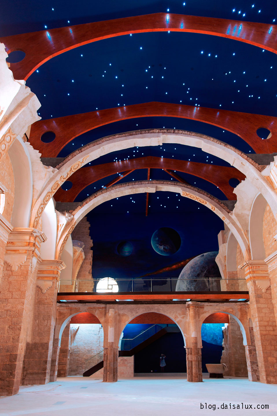 El interior de San Pedro Cultural
