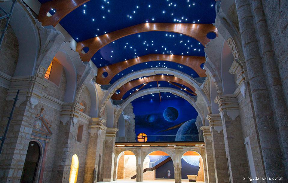Espacio interior de San Pedro Cultural
