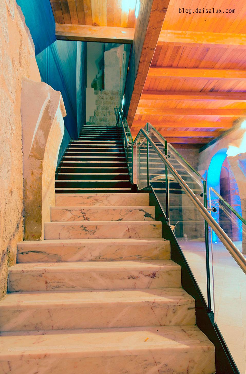 Escalera interior de San Pedro Cultural