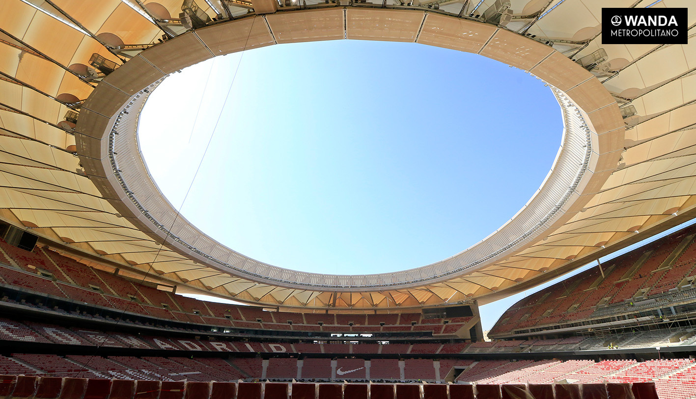 Cubierta Wanda Metropolitano